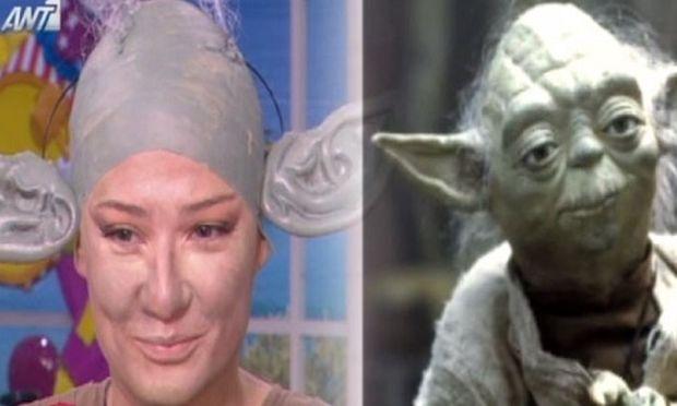 Φαίη Σκορδά: Ο Γιαννάκης της ζήτησε να ντυθεί Yoda και θα πάει έτσι να τον πάρει από το σχολείο! (βίντεο)