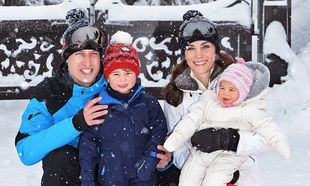 Kate Middleton-Πρίγκιπας William: Φωτογραφίες από τις πρώτες τους οικογενειακές διακοπές στις Άλπεις!