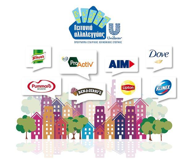Για δεύτερη χρονιά «Γειτονιά Αλληλεγγύης» στη Θεσσαλονίκη από την ΕΛΑΪΣ-Unilever Hellas