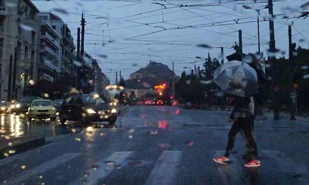 Έκτακτο δελτίο επιδείνωσης καιρού – Ισχυρές καταιγίδες και χαλάζι τις επόμενες ώρες