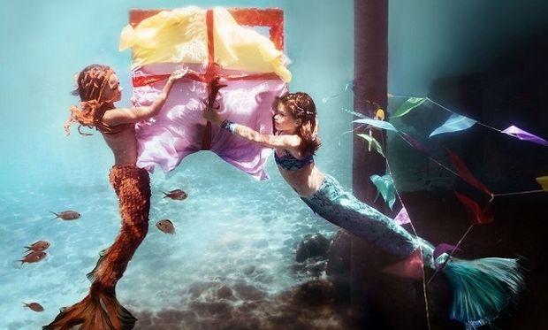 Εντυπωσιακές υποβρύχιες φωτογραφίες με πρωταγωνιστές παιδιά (φωτό)