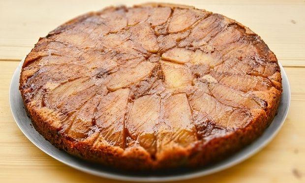 Ανάποδη νηστίσιμη μηλόπιτα χωρίς βούτυρο, αυγά και ζάχαρη, από τον Γιώργο Γεράρδο!