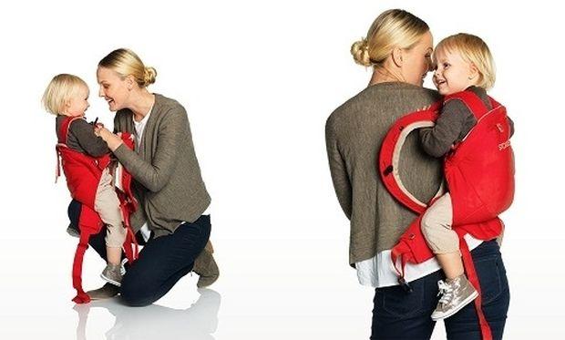Νέος βελτιωμένος μάρσιπος Stokke® MyCarrier™-Προσφέρει άνεση και ασφάλεια στο μωρό