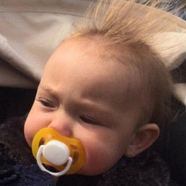 To όμορφο αυτό μωράκι είναι η «κρυφή» κόρη του πιο σέξι star του Hollywood