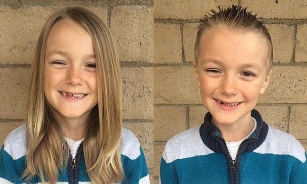 Σκληρό παιχνίδι επιφύλαξε η μοίρα στο αγοράκι που μάκραινε τα μαλλιά του για να τα δωρίσει σε παιδάκια με καρκίνο