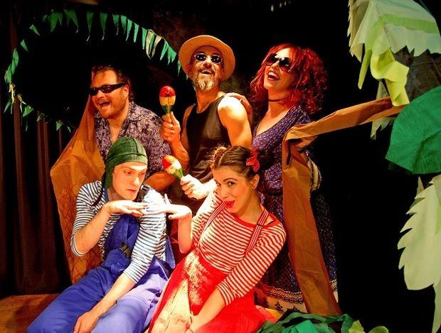 Μια υπέροχη θεατρική παράσταση για παιδιά: Ο Χαχά, η Χιχί και το αερόστατο της Ειρήνης στις Μορφές Έκφρασης