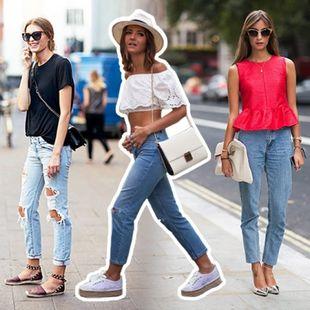 Πώς να φορέσεις το τζιν σου με δέκα διαφορετικούς τρόπους!