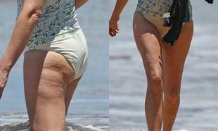 Αυτό είναι το κορμί της 48χρονης σταρ, μετά τις τρεις γέννες χωρίς ρετούς! (εικόνες)