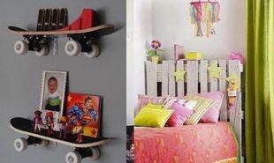 Δημιουργικές DIY ιδέες για να ανανεώσετε μαζί με τα παιδιά σας το δωμάτιο τους από αγάπη!