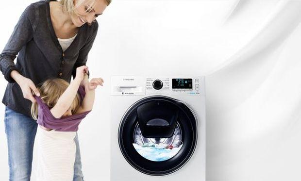 Samsung AddWash: «Η ευκολία στο σπίτι σας»