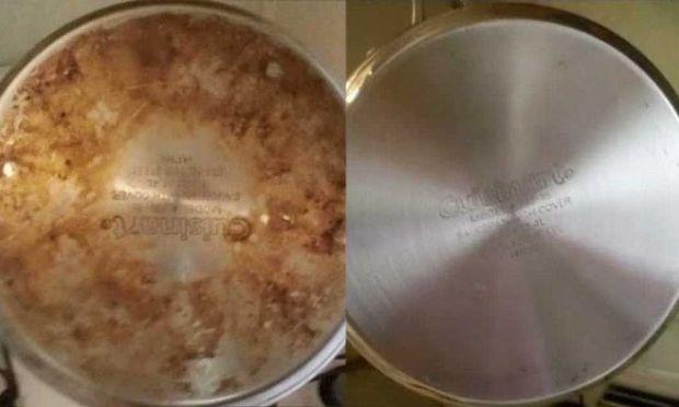 Με αυτά τα δύο υλικά θα κάνετε κατσαρόλες και τηγάνια σαν καινούρια!