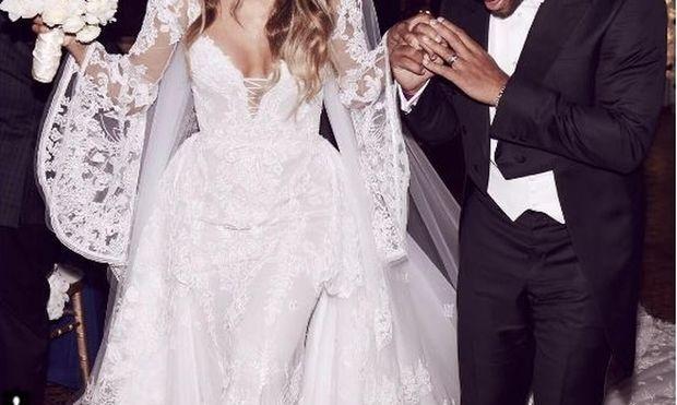 Nτύθηκε νυφούλα γνωστή τραγουδίστρια-Η πρώτη φωτογραφία από τον γάμο της