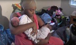 Γέννησε δίδυμα για τρίτη φορά μέσα σε 26 μήνες!