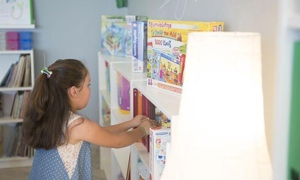 Όταν μια βιβλιοθήκη ανοίγει ένα παράθυρο στη ζωή…