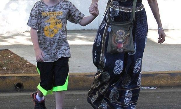 Δείτε την 57χρονη Sharon Stone με τον 10 χρονο γιο της