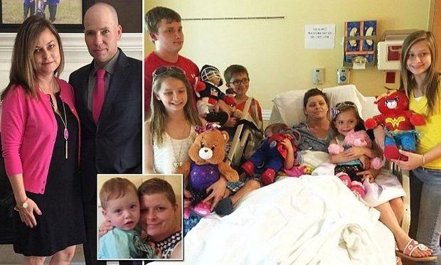 Μαμά τριών παιδιών, υιοθέτησε τα έξι της φίλης της που έφυγε από τη ζωή