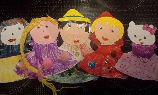 Φτιάξτε μαζί με τα παιδιά σας, κούκλες για κουκλοθέατρο από φίλτρα καφέ!