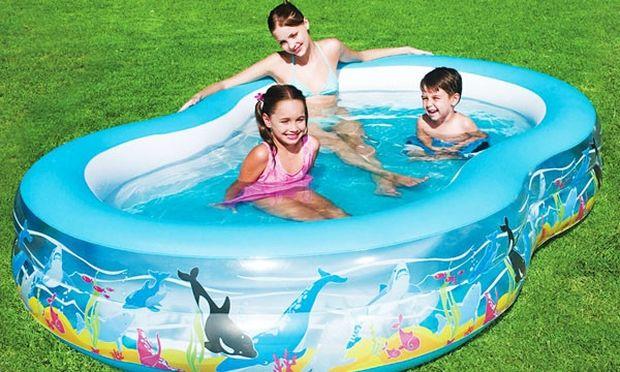 «Η φουσκωτή πισίνα»-Μια καλοκαιρινή ξεκαρδιστική ιστορία