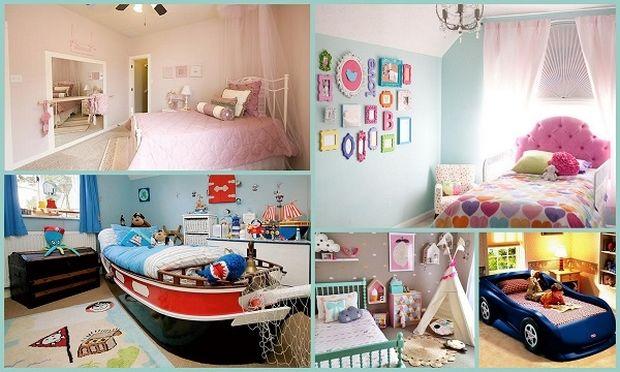 12 εκπληκτικές ιδέες για το παιδικό δωμάτιο