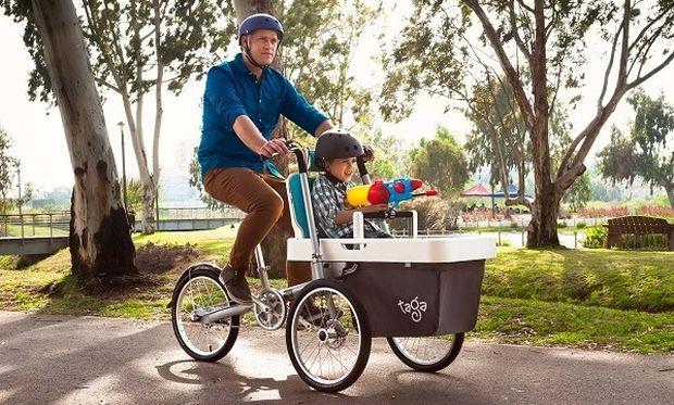Το νέο οικογενειακό ποδήλατο είναι πρωτότυπο και πρακτικό! (βίντεο)