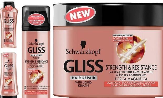 Αποκτήστε και εσείς πλούσια μαλλιά γεμάτα ζωντάνια με τη νέα σειρά GLISS από τον Schwarzkopf!