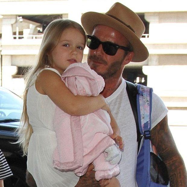 Μα τι γλυκιά φωτογραφία: O David Beckham και η κόρη του, Harper, μας έκαναν να λιώσουμε