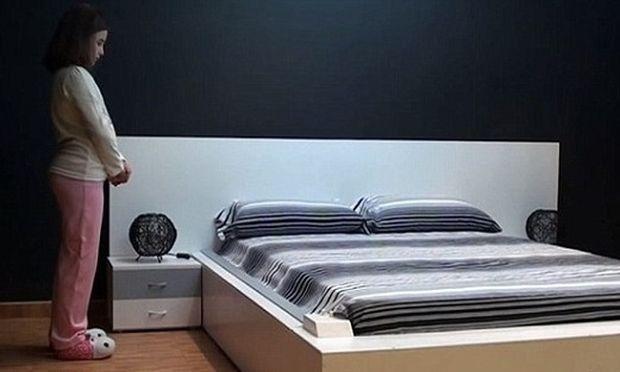 Θα αγοράζατε ένα κρεβάτι που στρώνεται μόνο του; (βίντεο)