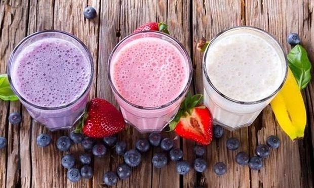 Χάστε κιλά πίνοντας γευστικά smoothies