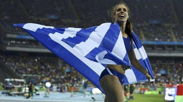 Ρίο 2016: το Χρυσό μετάλλιο κατέκτησε η Κατερίνα Στεφανίδη στο επί κοντώ