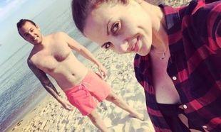 Ελένη Καρποτίνη: Η πρώτη φωτογραφία του γιου της και το μήνυμα από το μαιευτήριο