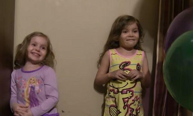 Ο «μάγος» μπαμπάς σώζει την κατάσταση με τα μπαλόνια (βίντεο)
