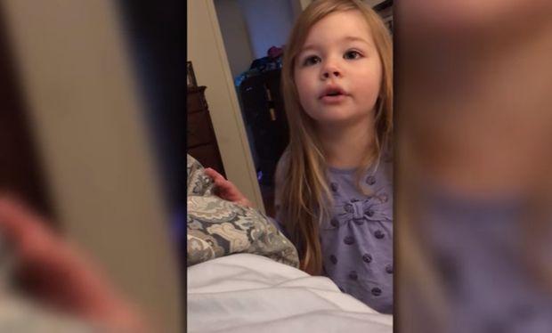 Η παρατήρηση που κάνει στον μπαμπά της είναι όλα τα λεφτά! Δείτε το βίντεο