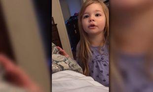 Μία γλυκύτατη μικρούλα κάνει παρατήρηση στον μπαμπά της! (βίντεο)