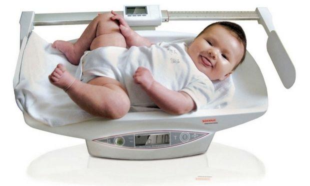 Πόσο βάρος πρέπει να παίρνει το μωρό τον πρώτο χρόνο