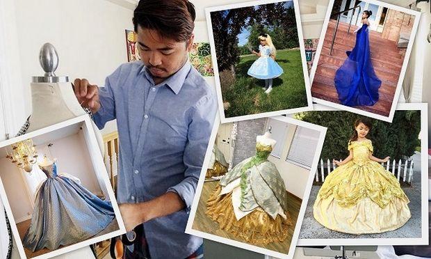 Αυτός ο μπαμπάς δημιουργεί τα πιο όμορφα φορέματα της Disney για τα παιδιά του. Θα σας κάνουν να ζηλέψετε