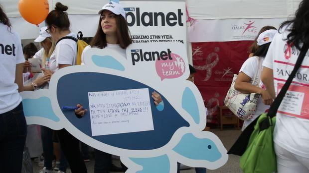 Η Rolco και τα planet έδωσαν και φέτος ένα ηχηρό παρών ελπίδας και σεβασμού κατά τον καρκίνου του μαστού στο 8o Greece Race for the Cure® 2016.