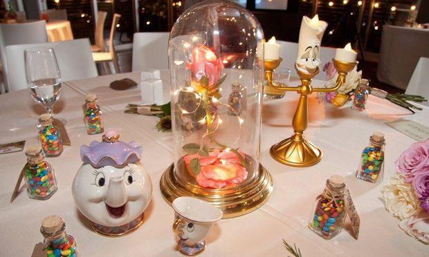 Κάθε τραπέζι σε αυτό τον γάμο είναι εμπνευσμένο από ταινίες της Disney