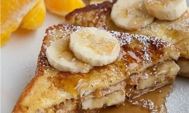 Γλυκό τοστάκι με... μπανάνα και μέλι!