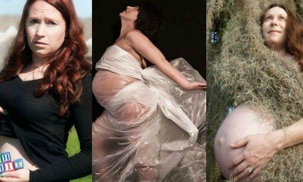 Ασυνήθιστες φωτογραφίες γυναικών κατά τη διάρκεια της εγκυμοσύνης τους