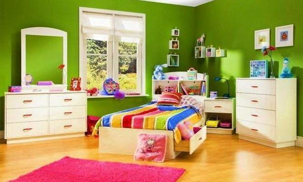 Χρώματα παιδικού δωματίου: Πόσο μπορεί να επηρεαστεί η ψυχολογία του παιδιού από αυτά