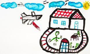 Ο πόλεμος μέσα από τα μάτια των παιδιών (ζωγραφιές)