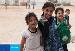 #EmergencyLessons: Η UNICEF Ελλάδος στο Ζαατάρι της Ιορδανίας