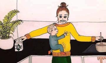 Η μητρότητα σε 10 σκίτσα που θα σας φτιάξουν τη διάθεση!