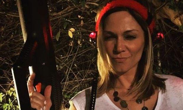 Έλλη Κοκκίνου: Αυτό είναι το χριστουγεννιάτικο δέντρο υπερπαραγωγή που στόλισε