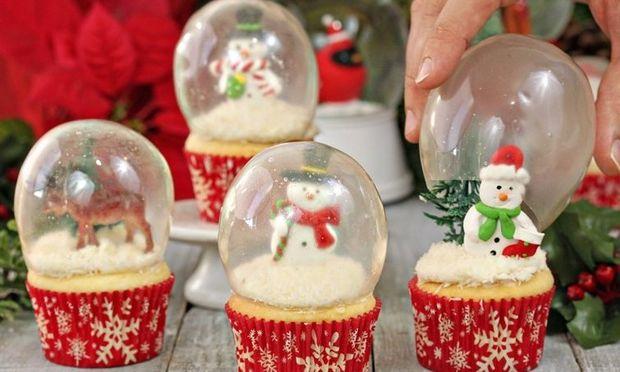 Διακοσμητικές φούσκες από ζελατίνη για τα χριστουγεννιάτικα κεκάκια σας και όχι μόνο