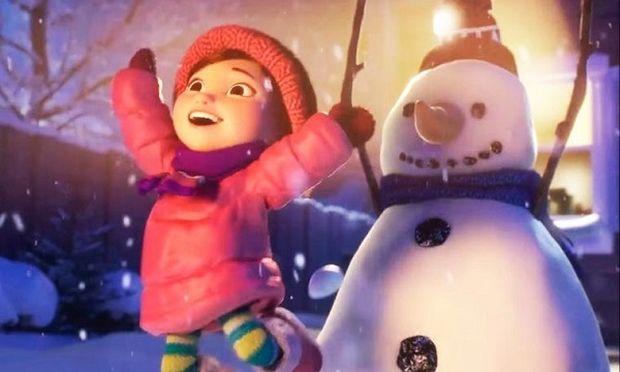 «H Lily και ο χιονάνθρωπος»,το συγκινητικό χριστουγεννιάτικο βίντεο που πρέπει να δείτε
