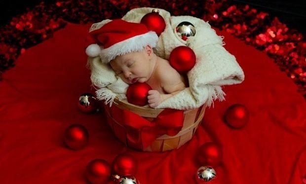 20 ξεχωριστές χριστουγεννιάτικες φωτογραφίες με μωρά