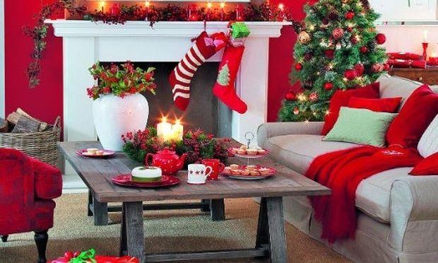 Deco: 20+1 χριστουγεννιάτικες ιδέες για να διακοσμήσετε τα τραπεζάκια σαλονιού