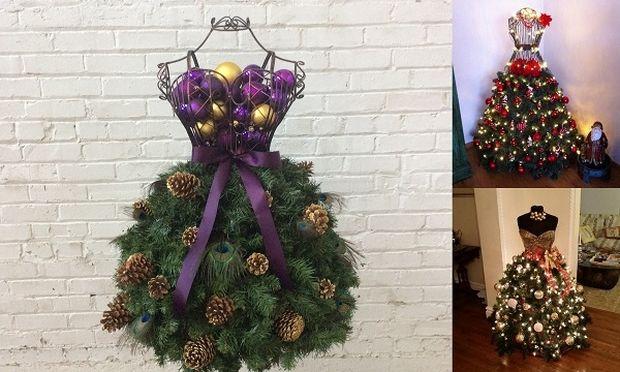 Χριστουγεννιάτικο δέντρο φόρεμα; 22 ιδέες για να φτιάξετε το δικό σας!
