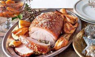Τραγανό χοιρινό κότσι για το γιορτινό τραπέζι